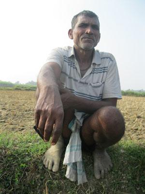 पर्साका किसान शिवदेवी पटेल।