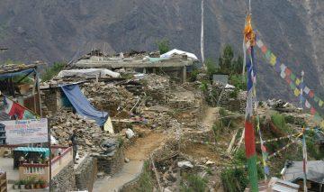 भूकम्प पुनर्निर्माणः बाचा र व्यवहार