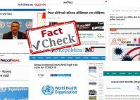 भ्रममा नपर्नुहोस्, नेपाल विश्व स्वास्थ्य संगठनको उच्च जोखिम सूचीबाट हटेको छैन