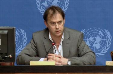 Rupert Colville, spokesperson of OHCHR