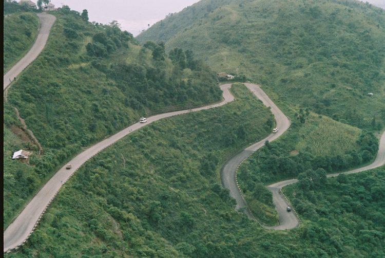 The Bhedetar section of the Dharan-Dhankuta road. Photo: Mohan Mainali