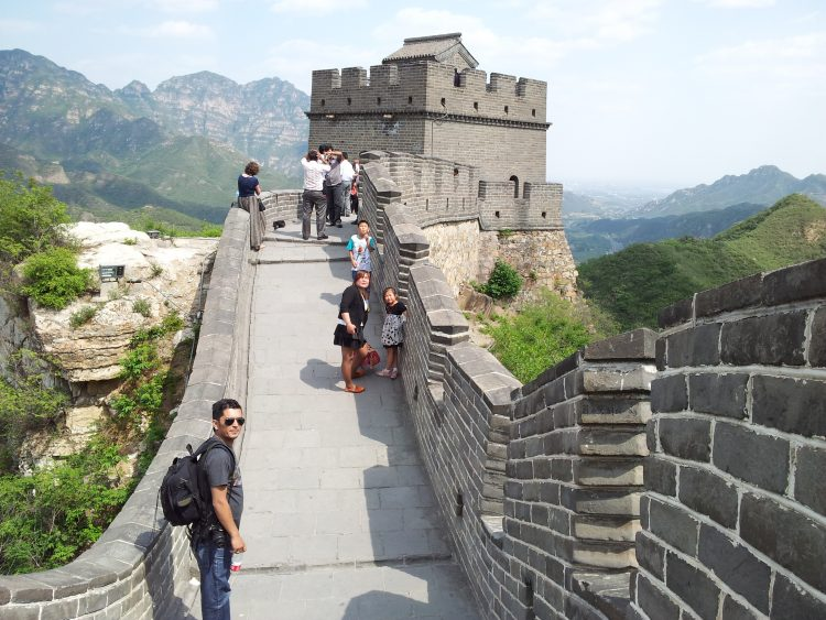 The Great Wall of China at Badaling. Photo: Dilip Dhakal