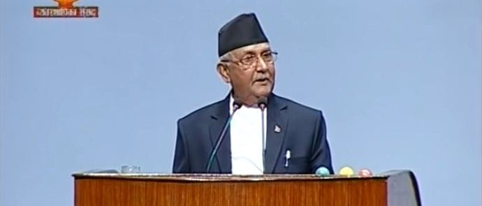 KP Oli gets fact wrong while attacking Dahal-Modi joint statement