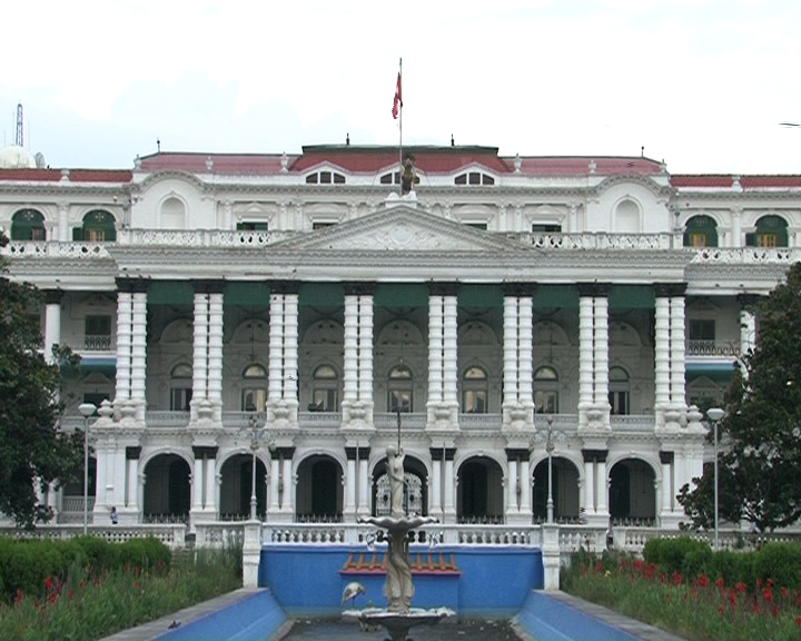 Singha Durbar, the central secretariat of the government of Nepal. Photo Krish Dulal/Wikipedia