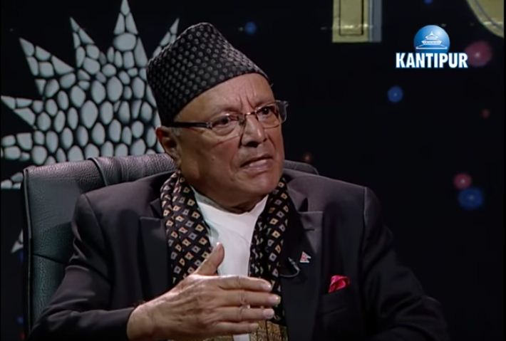 Bhekh Bahadur Thapa Photo: Youtube.com/KantipurTV