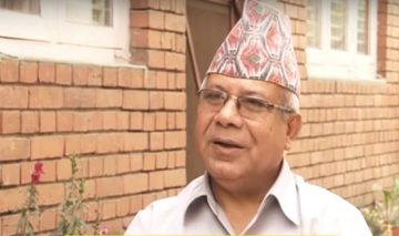 Madhav Nepal utters mistakes