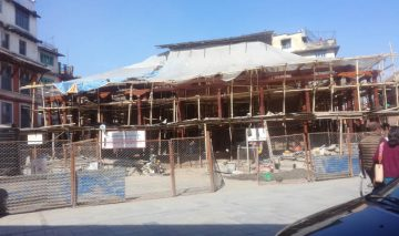 Despite delays, KRC hopes to rebuild Kasthamandap within deadline