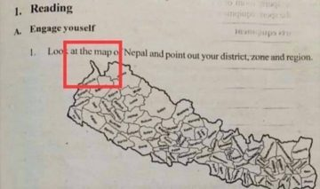 Viral Nepal map from Grade 8 textbook: Many misread Anno Domini as Bikram Sambat