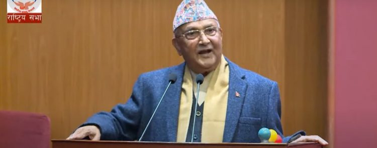 PM Oli made some misleading claims in upper house