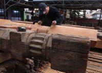 Progress report on Kasthamandap reconstruction