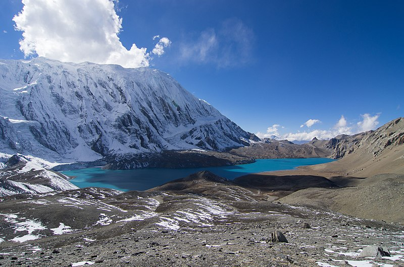 Neither Tilicho nor the new lake are highest in Nepal or world