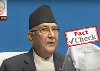 PM makes unfounded claims about PCR test rate, virtues of Nepali diet