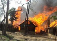 Old photo being circulated as that of recent Chepang settlement fire